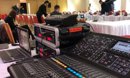 Tonska režija i distribucija signala za konferencije